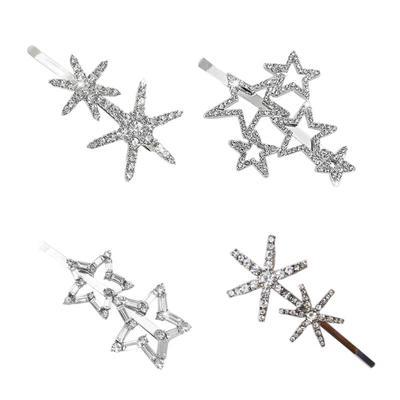 Accessories Diamond Shape Hollow Out Hairpins Hair Clip Hairgrips Hairpins
