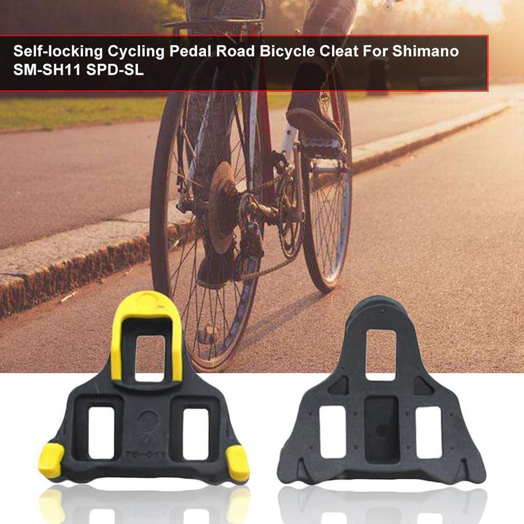 SM-SH11 SPD-SL Cleats Road Bike 6 degree Self-locking Bicycle Bike Pedal Cleats