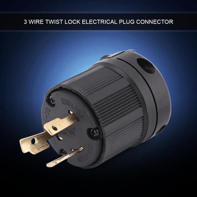 3 Pole Generator RV AC 30A 125V-250V Male Female Receptacle US Plug /& Socket