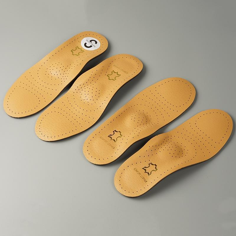 皮革足弓矫正鞋垫 男士女士 透气吸汗防臭 柔软减震舒适春鞋