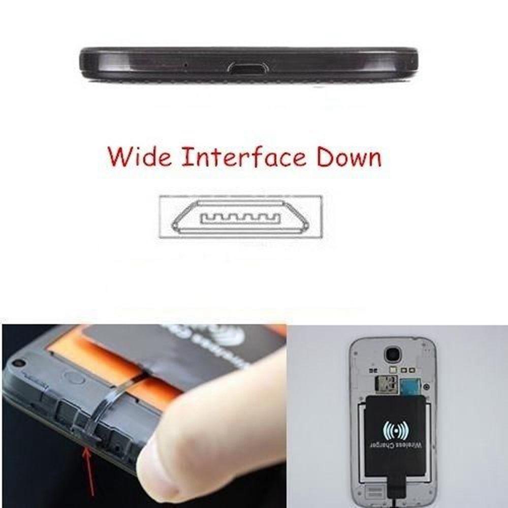 Стільникові телефони Wireless Ци мобільних мікро USB для Android ... 2ffe160be0cb3