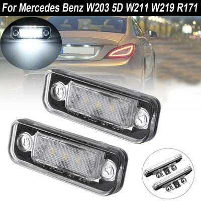 smoked colo finish LED tail rear lights for  MERCEDES W203 C-Class S203 T wagon