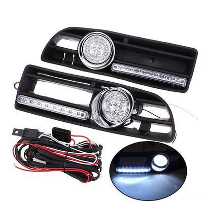 2x LED Number License Plate Light For VW GOLF MK4 MK5 MK6