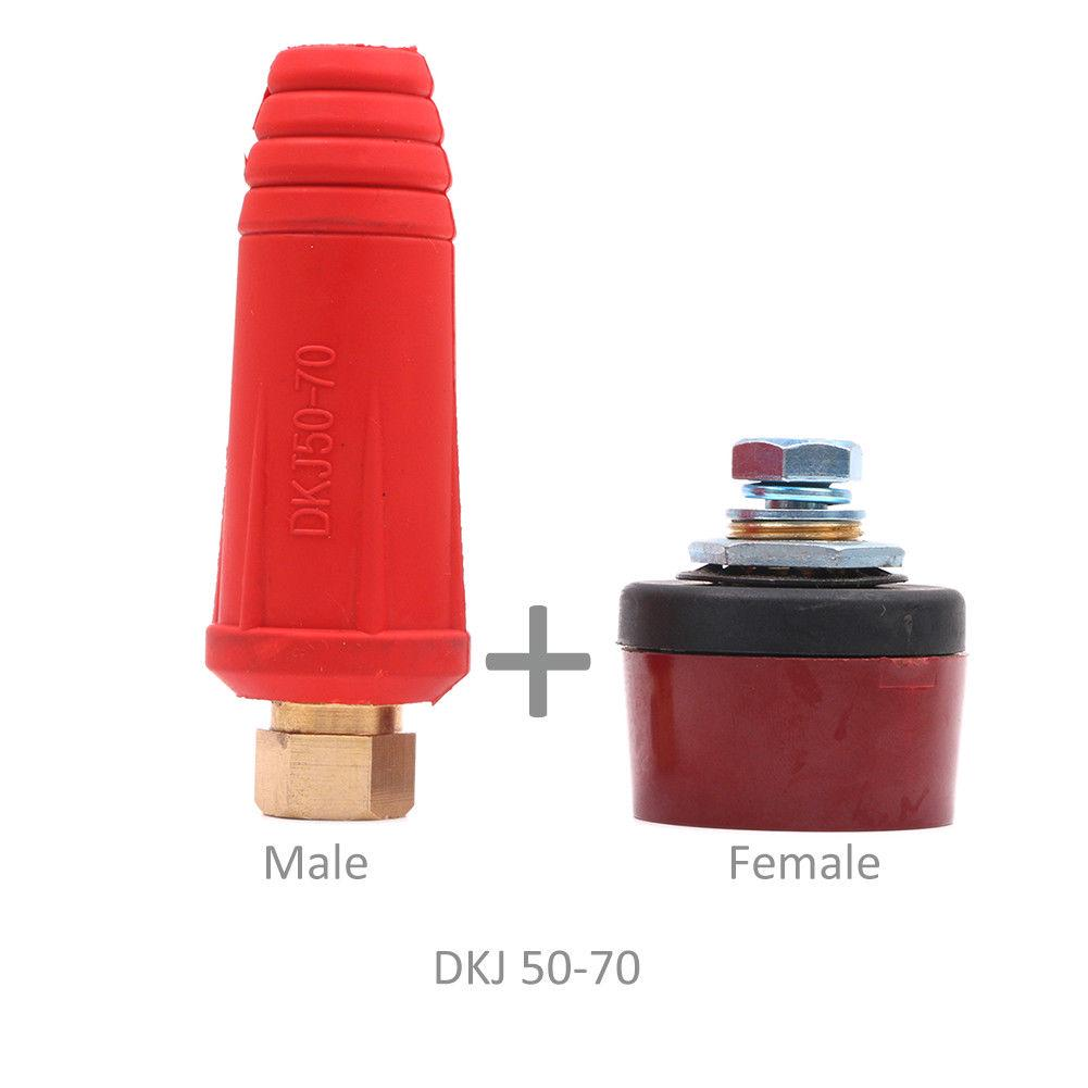 Female Cable Connector Plug Socket DKJ50-70 Welding Machine Quick Fitting Male