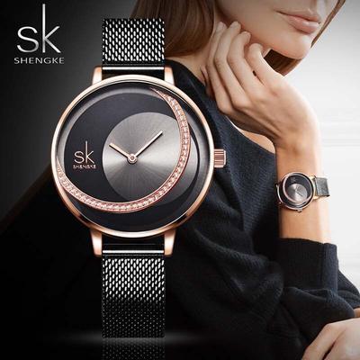 Luxury Brand Women Wristwatch Stainless Steel Quartz Clock Ladies Wrist Watches Female Watches