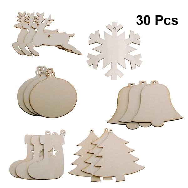 Door Hanger Laser Cut Out Stocking Unfinished Wood Cut Out Christmas Stocking Laser Shapes Christmas Decor