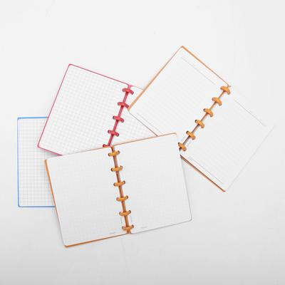 12Pcs Plastic Ring Binder for Spiral Notebook Diary Loose Leaf Book Binding  G4
