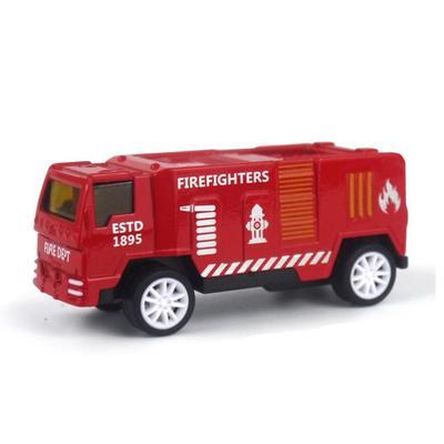 Oyuncak Kamyon çekme Arka Alaşım Araba Modeli Mini Simülasyon