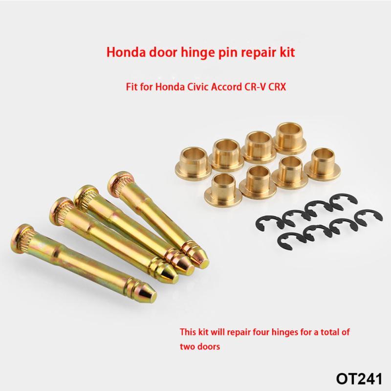 Aftermarket Parts Door Hinge Pin Pins /& Bushing Repair Kit Set For Honda Civic Accord CRV CX DX EX SI EG6 B16 D16 EK