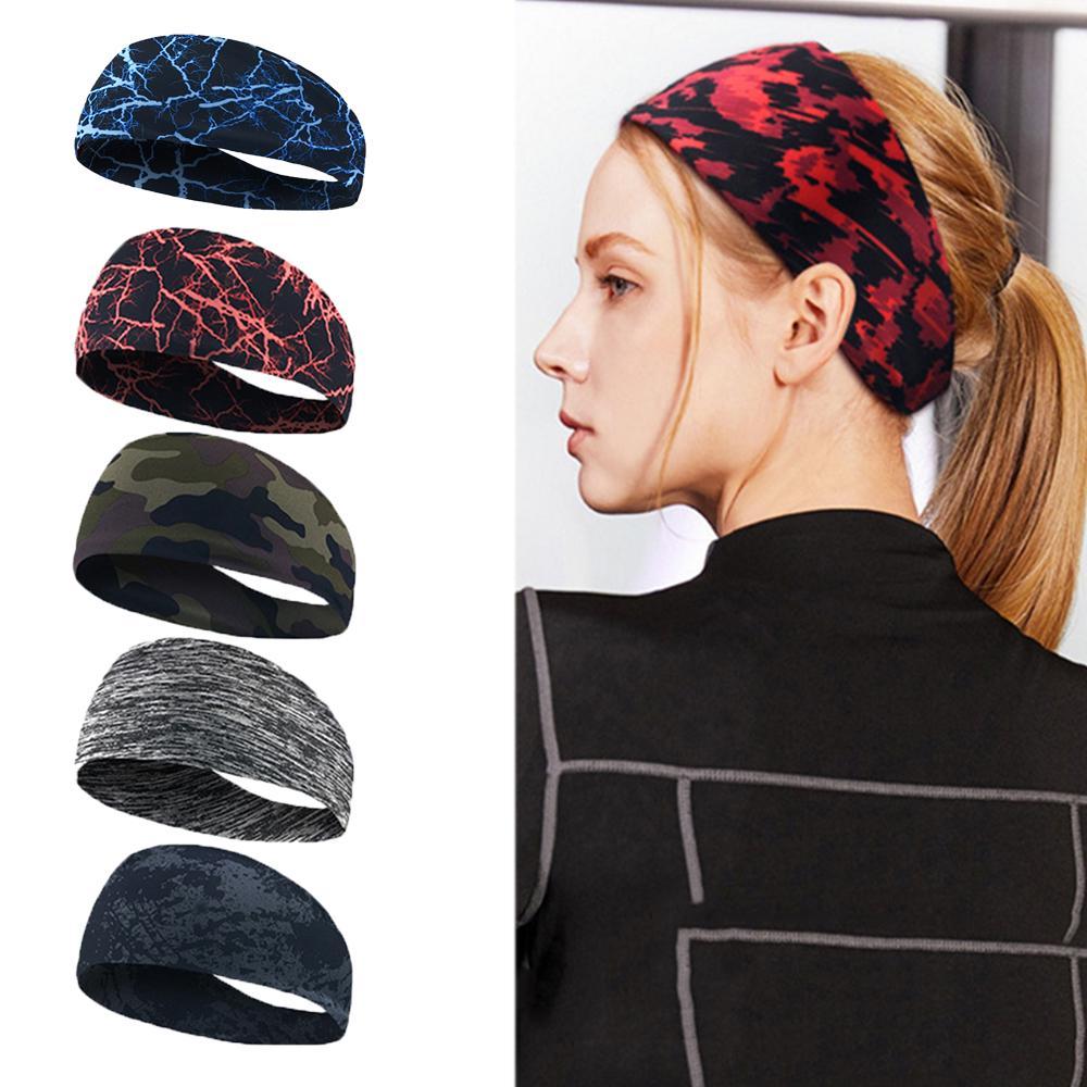 1PC Comfortable Head Sweatband Fleece Ponytail Ear Warmer Headband Running Sport