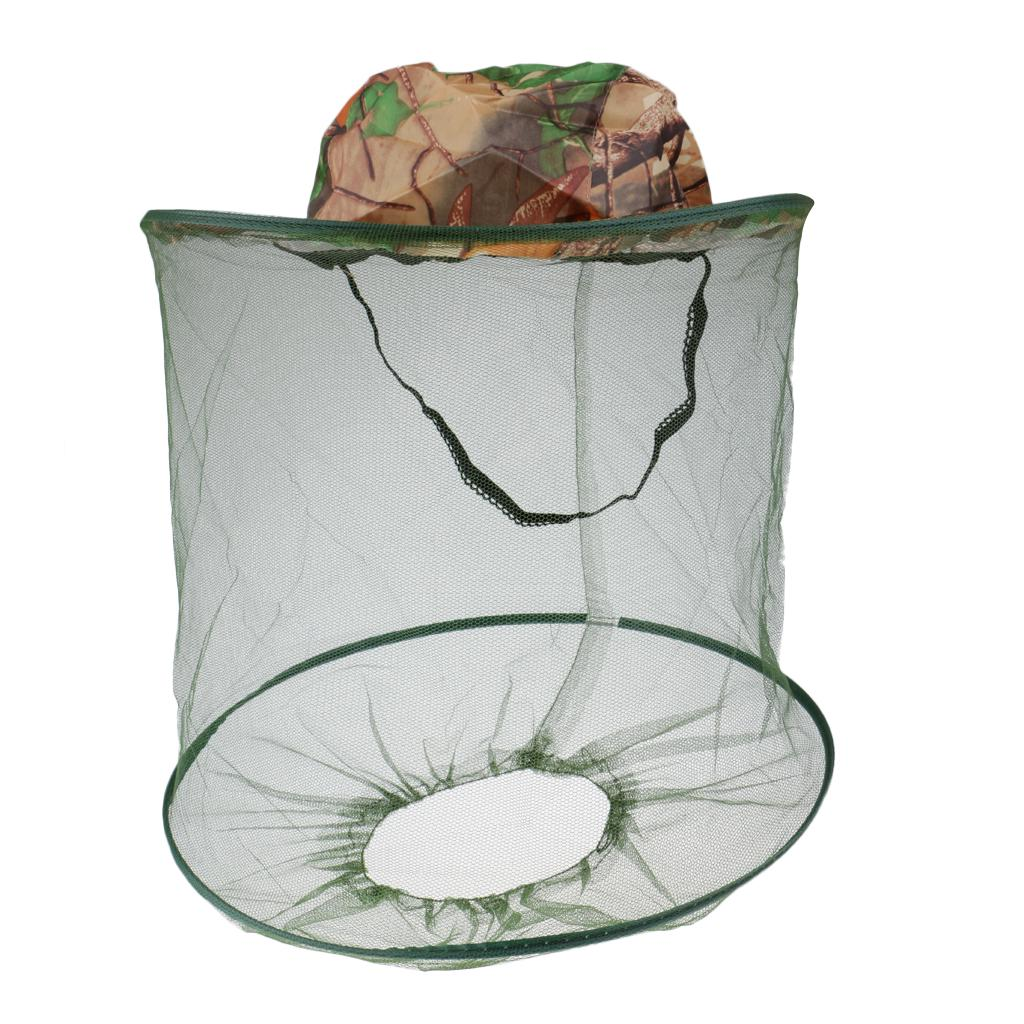 Camouflage Unlined Shawl Cap All-matched Mosquito Cap Beekeeping Anti-bee Jungle Cap Durable In Use Men's Sun Hats Men's Hats