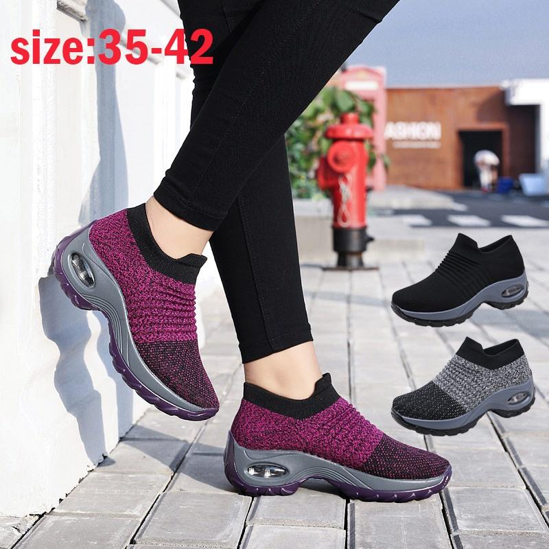 Womens Casual Trainers Ladies Lace Up Running Gym Fitness Sports Light Shoes