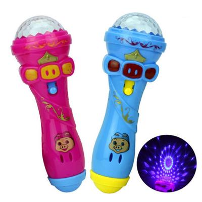 Projection Microphone Flash Microphone Starry Sky Light Stick Light Toy