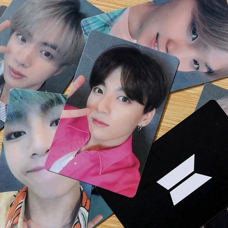 7 шт. / Компл. Новая официальная фотокарта BTS Selfie World Ost Photocards Jimin V Jungkook Collective купить недорого — выгодные цены, бесплатная доставка, реальные отзывы с фото — Joom