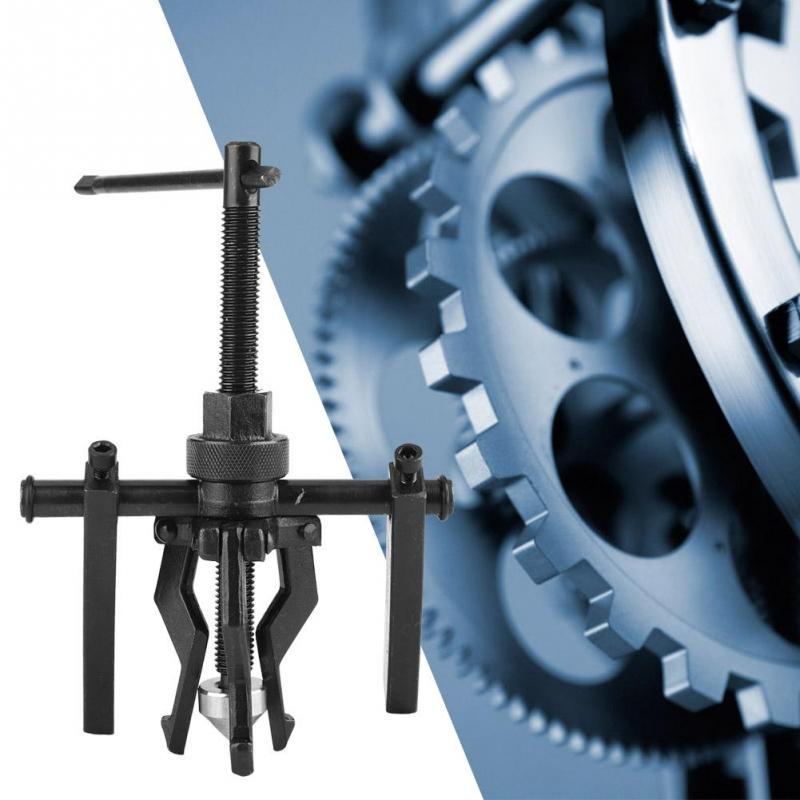 Alloy Steel 3-Jaw Pilot Reversible Puller Bearing Gear Extractor Internal//External Pulling Tool
