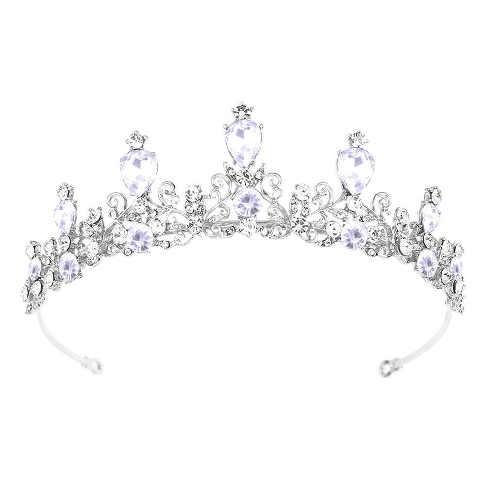 Princess Wedding Bridal Crystal Rhinestone Prom Hair Tiara Crown Headband