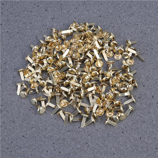 4.5 mm Scrapbook Ojal al azar color mezclado ojales de metal para la ropa de bricolaje 100 un