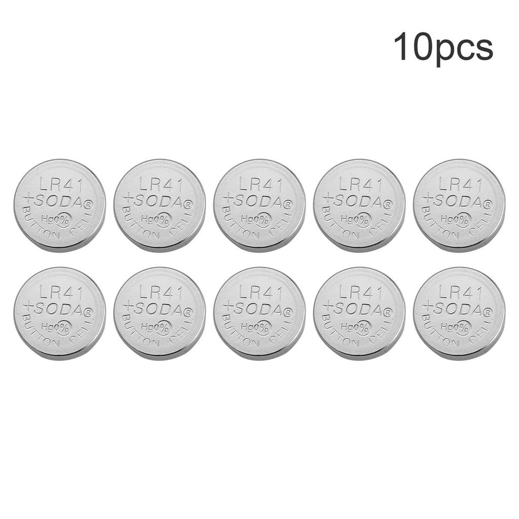 Cell Button Watch Battery 10X AG3 LR41 LR736 392 392A SR41SW CX41 Source · 1 of