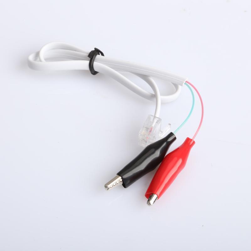 Telefon zu Hause Telefonkabel Rj11 Stecker Alligator Clip Test ...