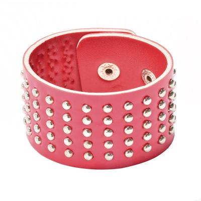 Pop Rivet Punk Bracelet Unisex Bracelet Wide Rivet Bangles