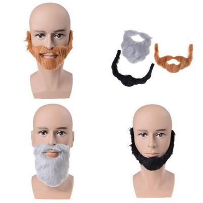 Fancy Dress Costume Party Halloween Costumes Fake Mustache Funny Beards new~