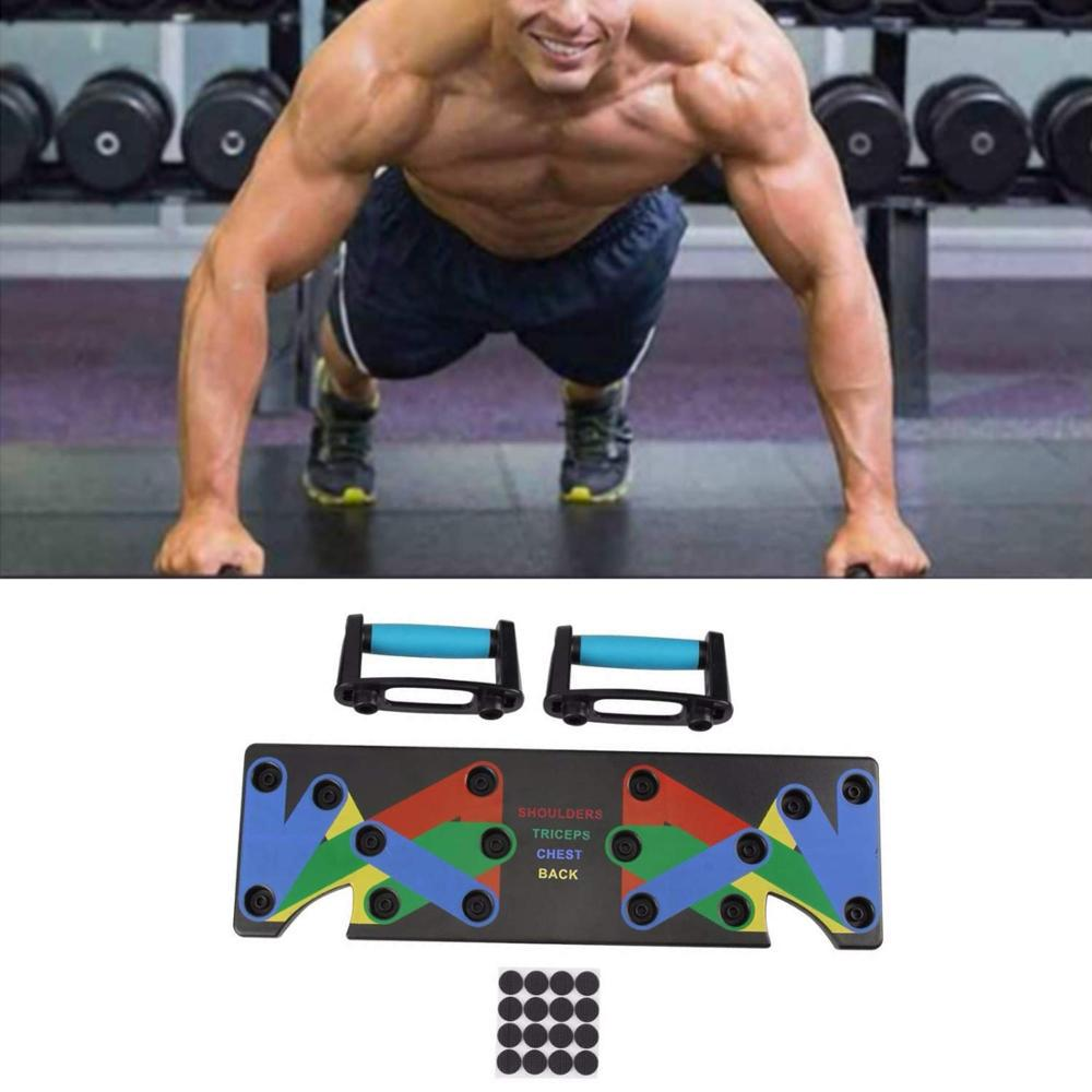 Push Up Rack Board Men Women Home Comprehensive Fitness Exercise Push-up Stand