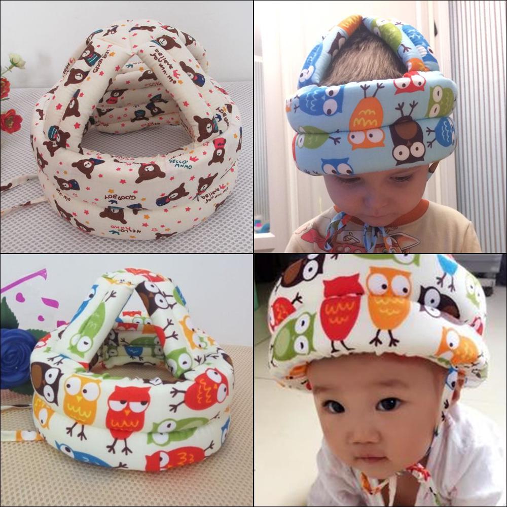 Baby Hat Head Защита безопасности научиться ходить Cap Мягкая голова шлем