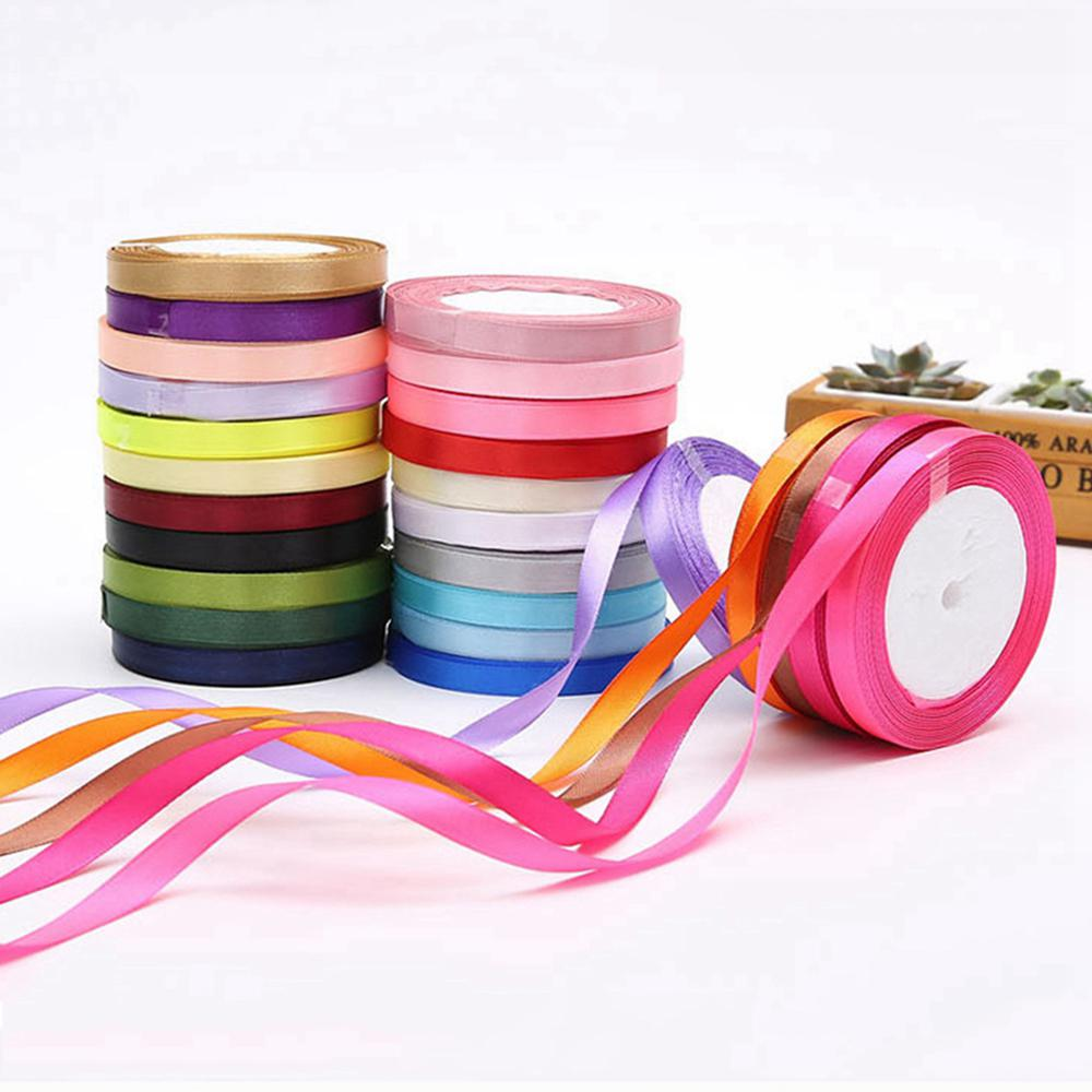 Gifts DIY Party Decorations Wedding Satin Sewing Fabric Ribbons Grosgrain