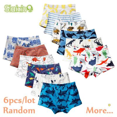 3pcs Pack Boys Underwear Children Cartoon Animal Print Cotton Panties Boxer Briefs Shorts Toddler Kids Bottoms Buy At A Low Prices On Joom E Commerce Platform