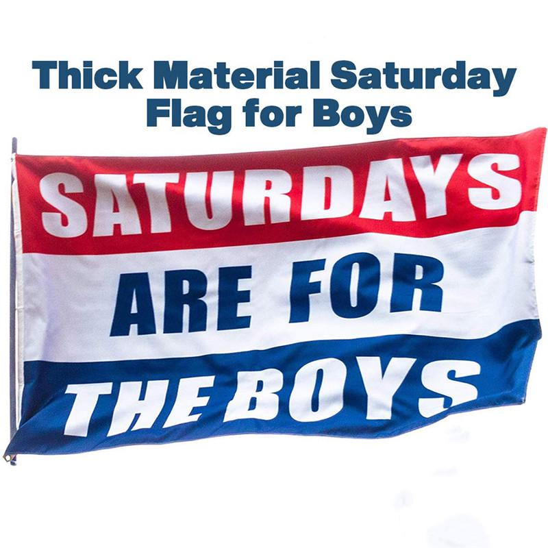 Brand New Saturdays Are For The Boys//Girls Flag 3x5ft JGBLGG