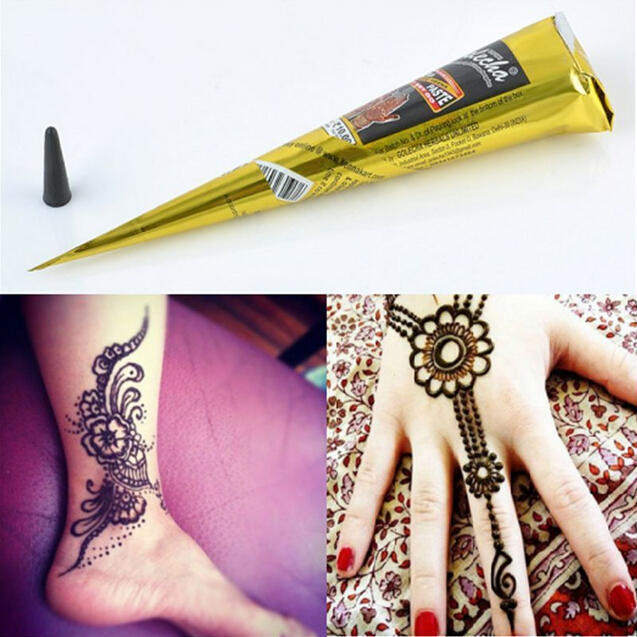 0bf35f4968a83 Fashion Temporary Tattoo Painted Cream Mehandi Herbal Henna Cones Body Art  Kit-buy at a low prices on Joom e-commerce platform