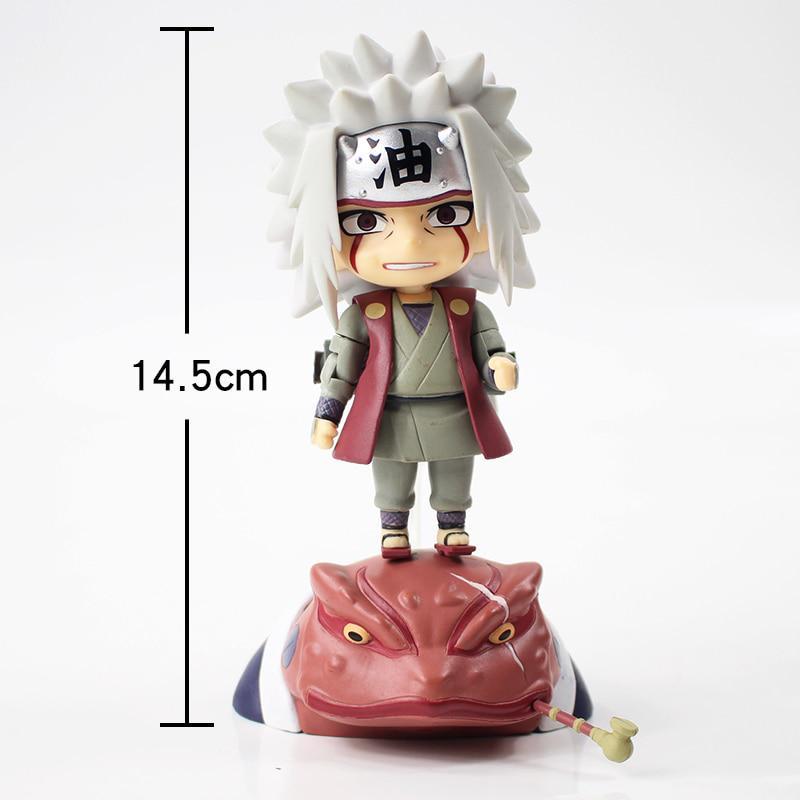 10CM Anime NARUTO 886# Jiraiya Gama Sennin Gama-Bunta PVC Figure Toy No Box
