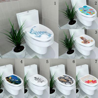 Fashion 3d Under The Sea World Toilet Wall Vinyl Wallpaper Wall Decals Buy At A Low Prices On Joom E Commerce Platform