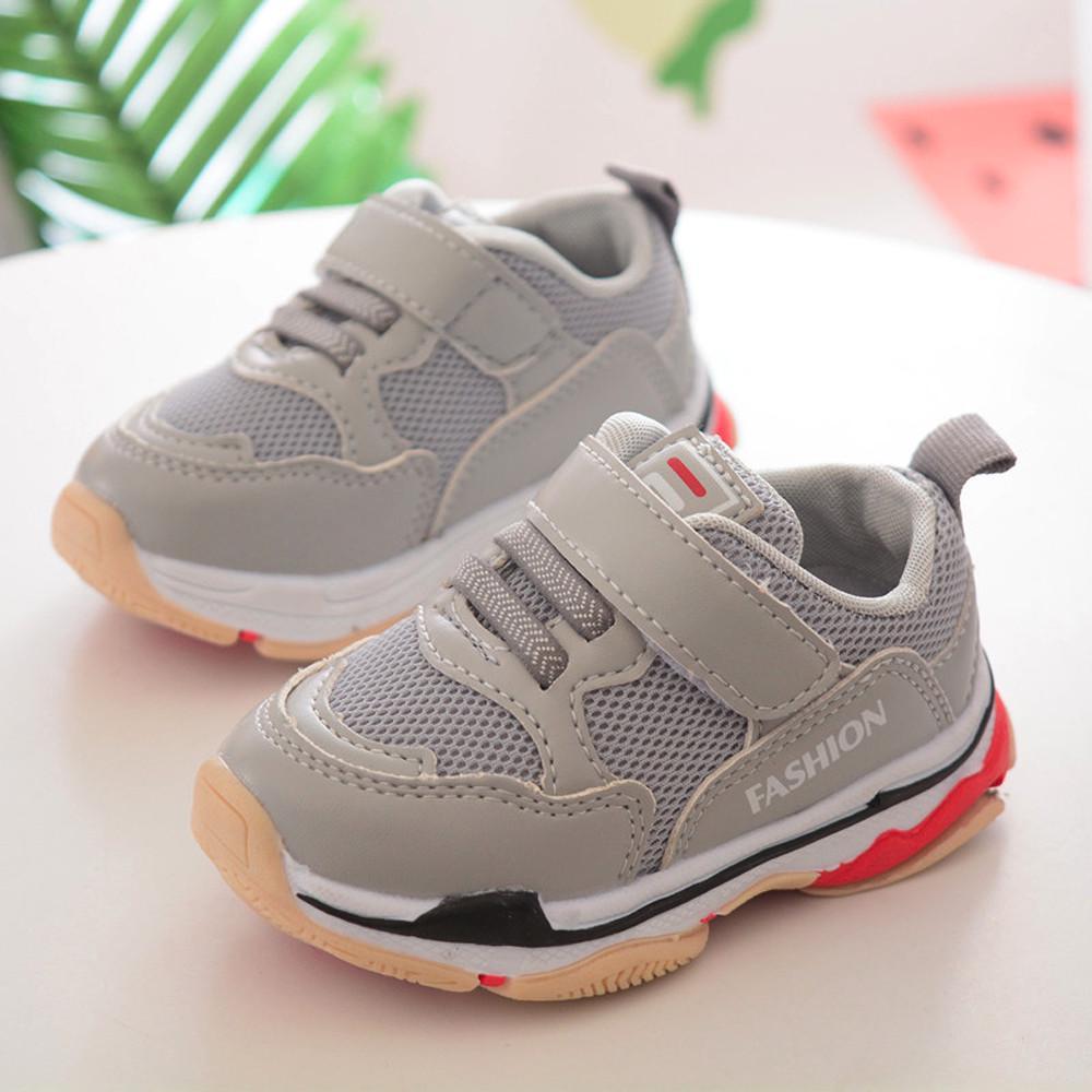 8029710e05c30 Bambino bambini bambini bambino Sport scarpe da Running lettera Mesh solida  Sneakers – acquistare a basso prezzo nel negozio online Joom