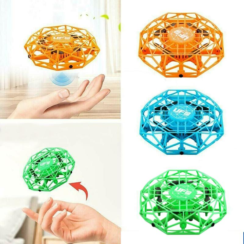 Flying Drone Kids Hand Motion Mini Control Sensor Flying Aircraft Helicoptor Toy