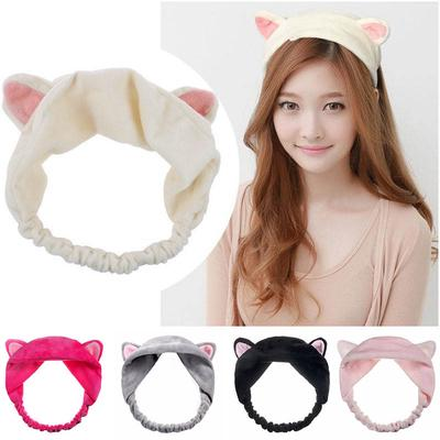Beauty & Health Styling Tools 1pc Fashion Cute Lady Girl Elastic Grail Cat Ears Hair Braiders For Washing Face Headdress Women Hair Accessories Party