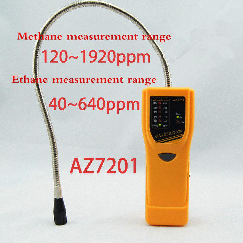 KKmoon Hand-held CFCs HCFCs HFCs Halogen Gas Detector Refrigerant Air Conditioning Detector Freon Gas Leak Tester