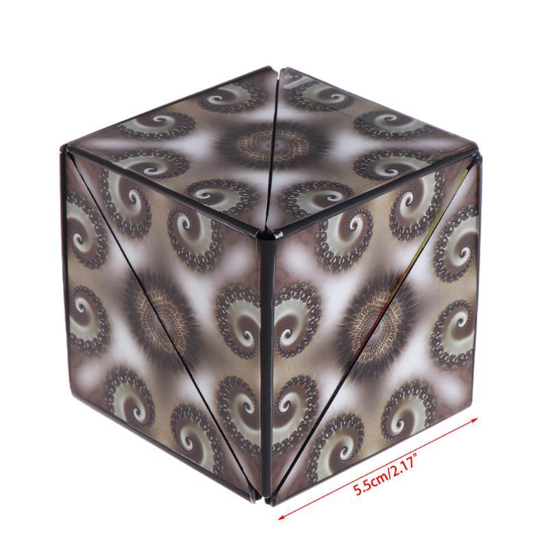 Hot Geometric Magic Cube Puzzle Magic Transforming Intelligence Educational Toys