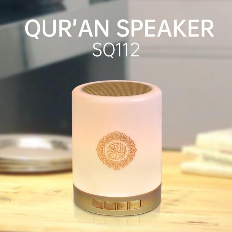 Colorful Usb Fm Radio Adjustable, Quran Led Lamp Bluetooth Speaker
