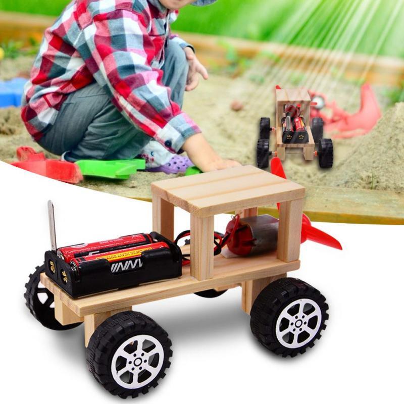 Educational Solar Bulldozer DIY Learning Toy Science Model Puzzle Assembly Kit