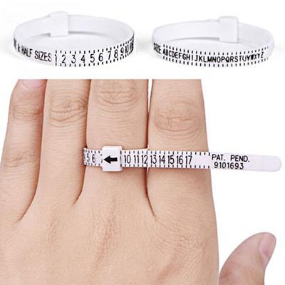 2/x UK anillo sizer//medida para los hombres y las mujeres tama/ños A-Z