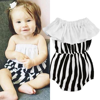 007b916ae Estados Unidos Stock recién nacido niña mameluco Enterizo Body algodón  verano ropa ropa