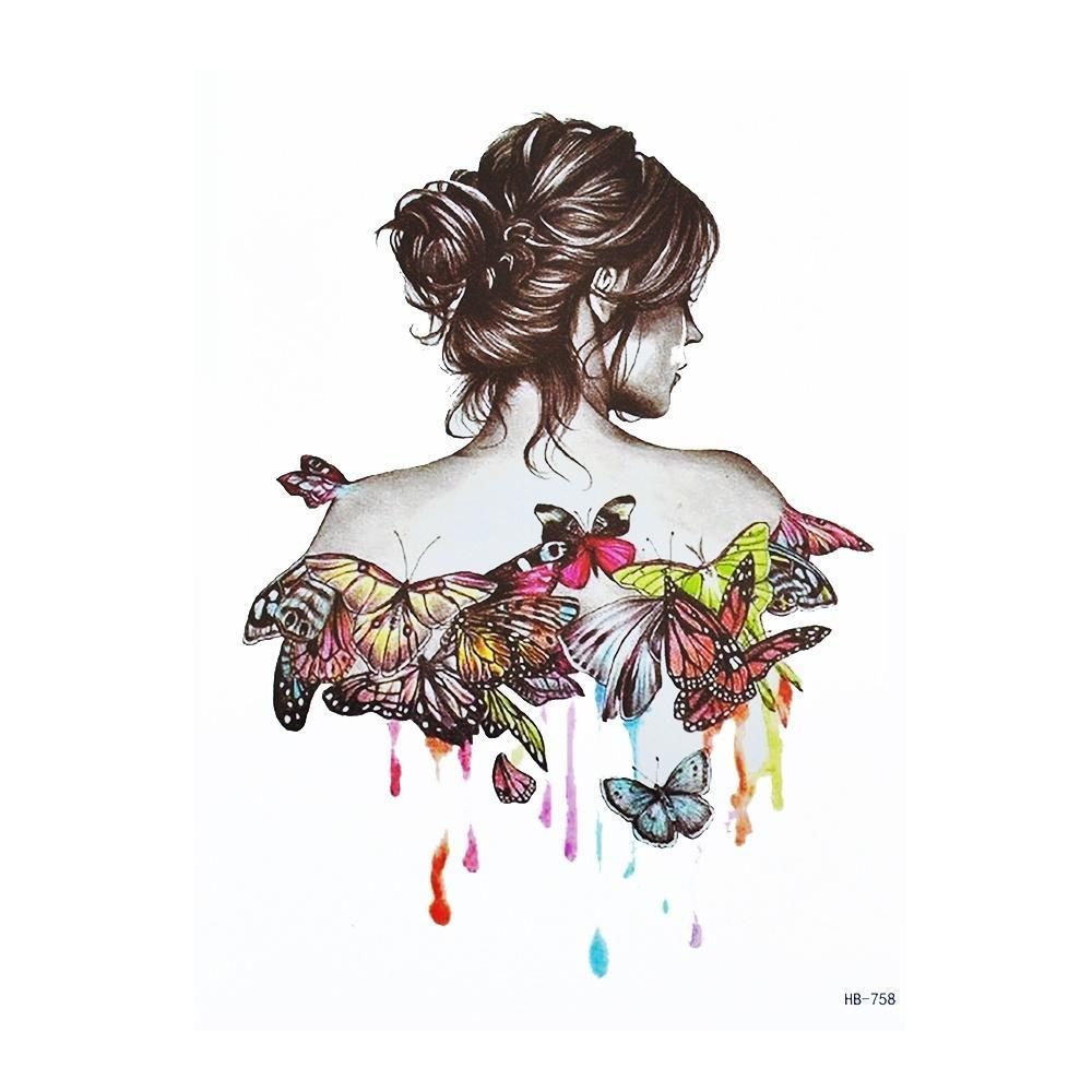 31dfe259d 1x DIY Body Art Painting Tattoo Colorful Animals Watercolor Temporary  Drawing Horse Butterfly Decal-buy at a low prices on Joom e-commerce  platform