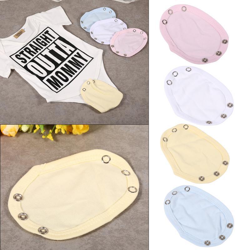 Nappy Changing Cotton Romper Film Film Cotton Bodysuit Jumpsuit Newborn Casual Lengthen Extended Baby Solid For Extended Baby Lengthen