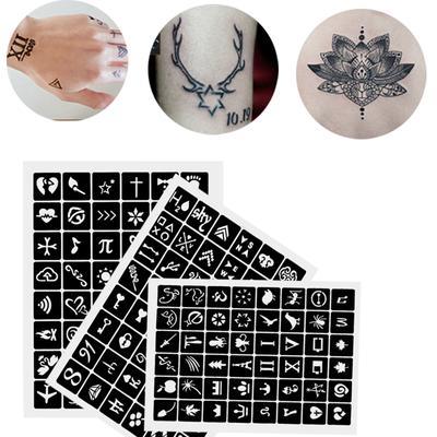 Dagu 1 Sheet Henna Design Template Hand Body Art Temporary Tattoo Stencil Diy Buy At A Low Prices On Joom E Commerce Platform