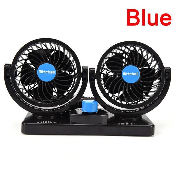 350W 24V Ceramic Auto Car Fan Heater Heating Warmer Defroster Demister Practical
