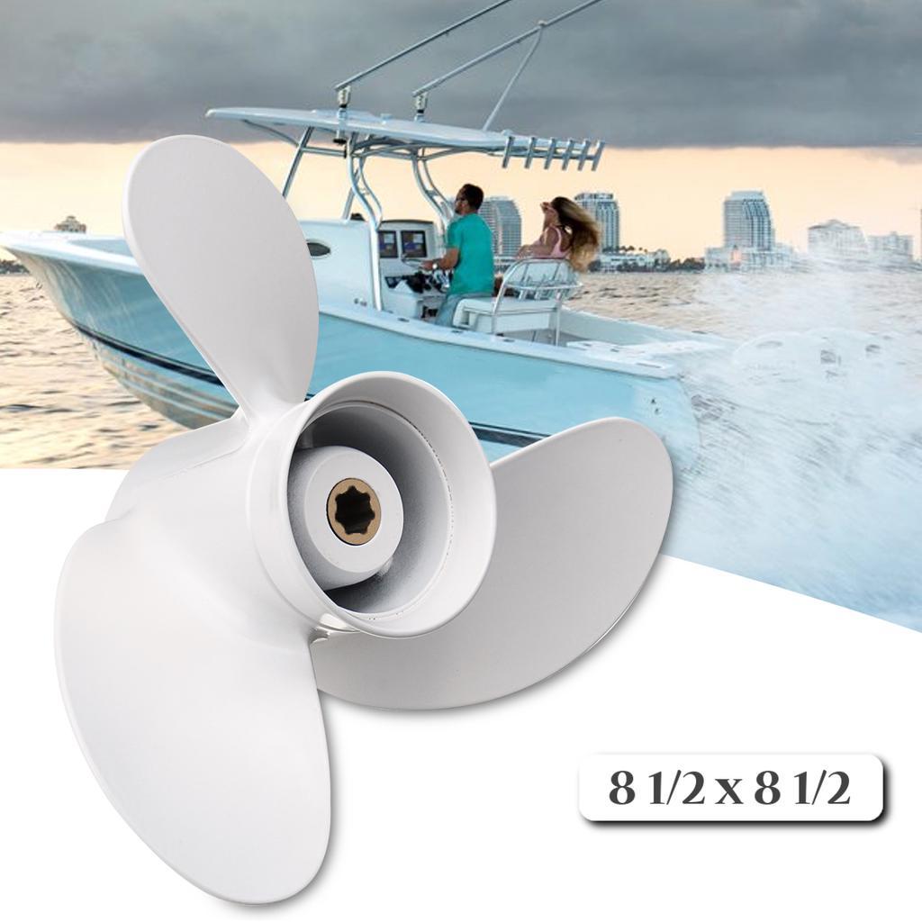 8 1//2 x 8 1//2 Ship Engine Outboard Propeller For Yamaha 6-8HP 6G1-45941-00-EL