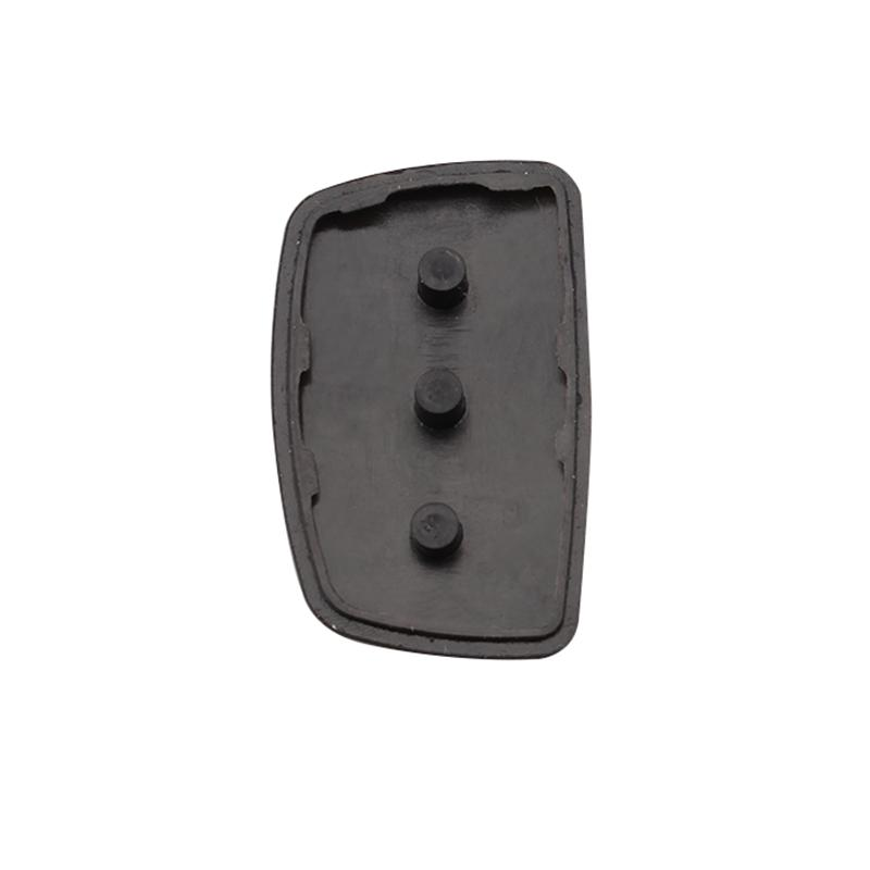 Flip Car Key Cover ix45 New Auto Parts Replacement 3 Button Rubber Silica Key Case Pad For 2013-2014 Hyundai Santa Fe