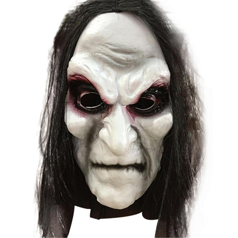 Halloween Mask Latex Festival Masquerade Realistic Lightweight Horror Costume