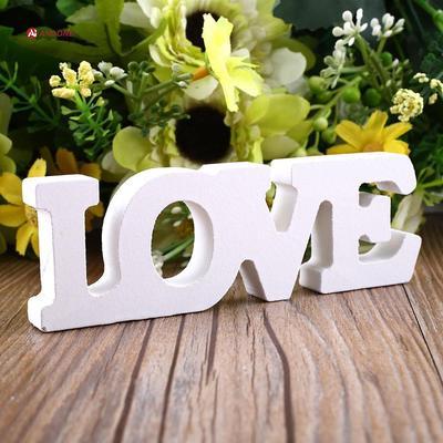 Wooden Wood Letter Alphabet Word Free Standing Wedding Birthday